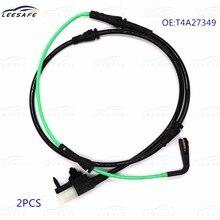 2 pces sensor indicador de desgaste t4a27349 da almofada de freio da roda do carro para jaguar linha de alarme da almofada de freio do sensor de desgaste oem nenhum t4a27349