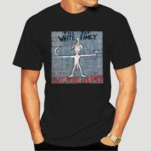 La grasa familia blanca-Champagne del Holocausto camiseta con portada del disco DTG blanco S-3XL-0799D