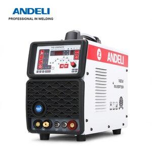 Image 5 - ANDELI TIG 250PACE Inverter Digitale AC DC Impulso TIG Saldatore TIG di Alluminio in Lega di alluminio Macchina di Saldatura TIG