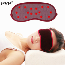 PVP Adjustable Tourmaline Far Infrared Ray Eye Massager Pain Fatigue Relief Deep Sleep Eye Mask Shade Magnetic Blindfold Cover