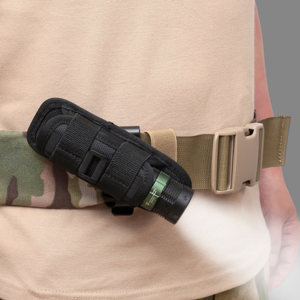 Details about  /4PCS UltraFire 360 Degrees Rotatable Flashlight Pouch Holster Belt Carry Case