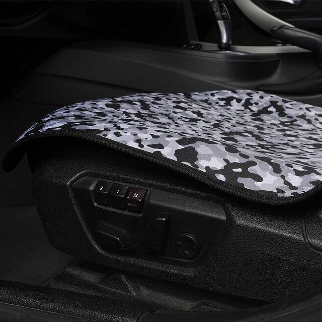 Housse de siège étanche coussin de siège de voiture universel pour sport salle de sport plage entraînements tous les sièges voitures camions camionnettes et SUV Style Camouflage