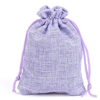 100pcs CBRL high quality jute pouch custom jute drawstring jewelry storage and packaging bag gift dust bag for ornament earphone
