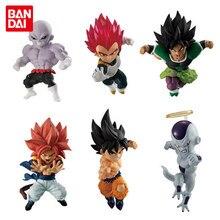 Bandai подлинный EX CASHAPON Драконий жемчуг Brolly Goku Вегета рекламная модель куклы 3 6 шт./компл.