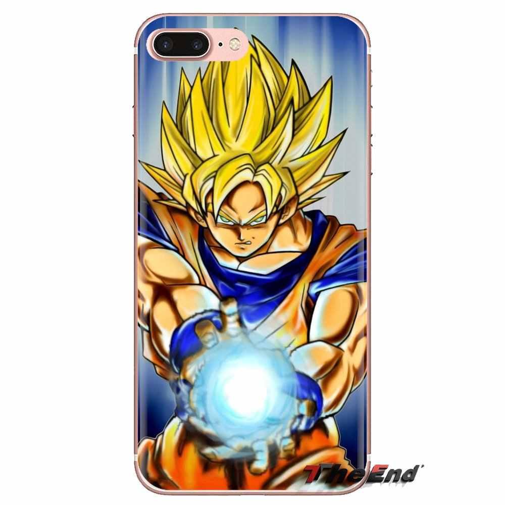 Fundas suaves Japón Anime Dragon Ball Z para Huawei G7 G8 P7 P8 P9 Lite Honor 4C 5X 5C 6X Mate 7 8 9 Y3 Y5 Y6 II 2 Pro 2017