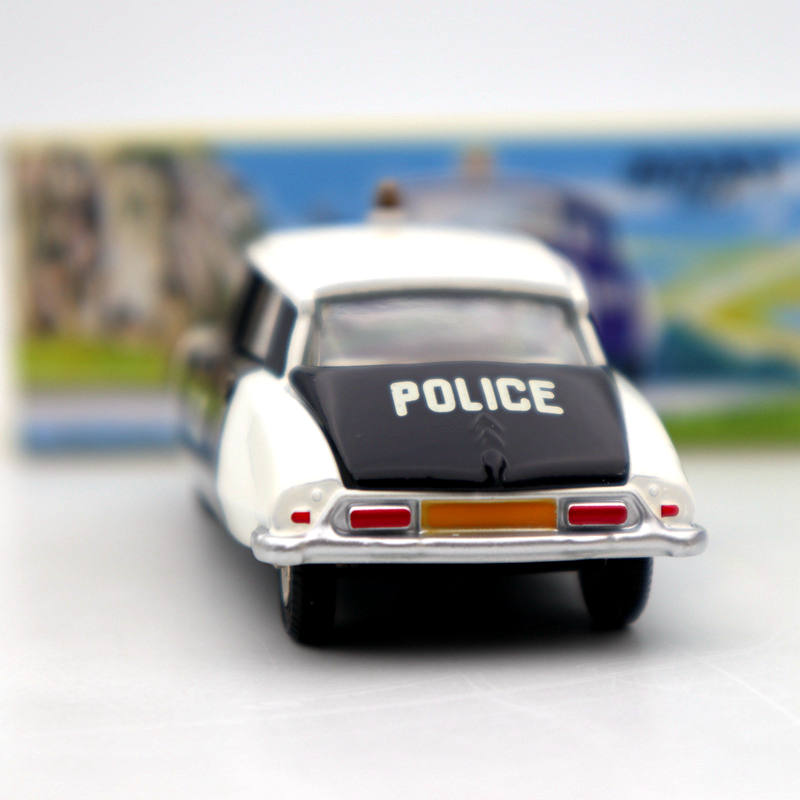 Image 2 - Atlas 1/43 Dinky Toys 501 Citroen DS 19 Police Models Diecast Collection Auto Car Gift MiniatureDiecasts & Toy Vehicles   -