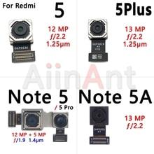 Petit câble de caméra avant dorigine pour Xiaomi Redmi Note 5 5A Pro Plus câble de caméra arrière grand dos principal