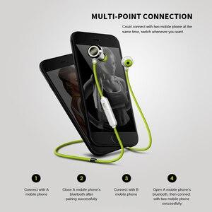 Image 2 - Mifo i6 IP68 Водонепроницаемые Bluetooth 5,0 наушники бинауральные стерео качественные наушники портативные спортивные наушники с лямкой через шею музыкальные наушники