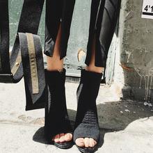 Тянущихся тканей на каблуке шпильке; Однотонные Цвет женские