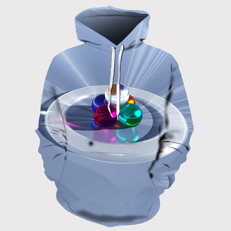 3D Printed Abstract Hoodies Men&Women 27