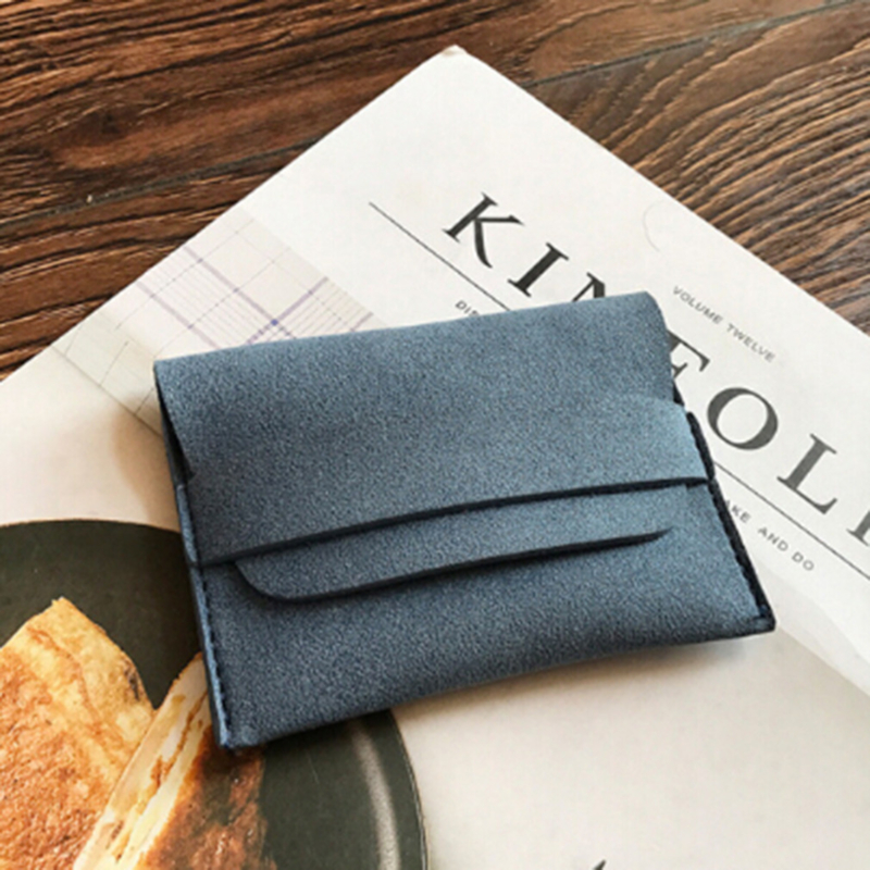 Genuine Leather Business Card Holder For Men Slim Card Wallet Thin ID Protection Case For Card Purse Bag