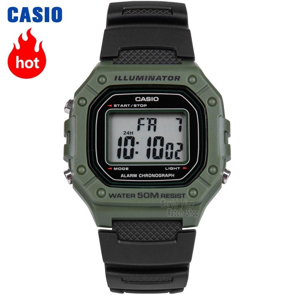 Zegarek Casio G Shock Shock Men Top Luksusowy zestaw wojskowy LED Cyfrowy zegarek Relogio Sport Wodoodporny Kwarcowy Zegarek męski Retro Zegarki Kwadratowy Prosty zegar Czarny Dorywczo Klasyczny zegarek na rękę reloj