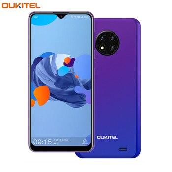 Перейти на Алиэкспресс и купить Оригинальный OUKITEL C19 Android 10,0 смартфон 4000 мА/ч, 4 аппарат не привязан к оператору сотовой связи 6,49 ''HD 2 Гб оперативной памяти, 16 Гб встроенной пам...