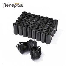 Benepaw Benepaw Biodegradable Dog Poop Bag With 2 Dispensers Leakproof Strong Pet Waste Bag Garbage Nontoxic 12 Rolls/480pcs
