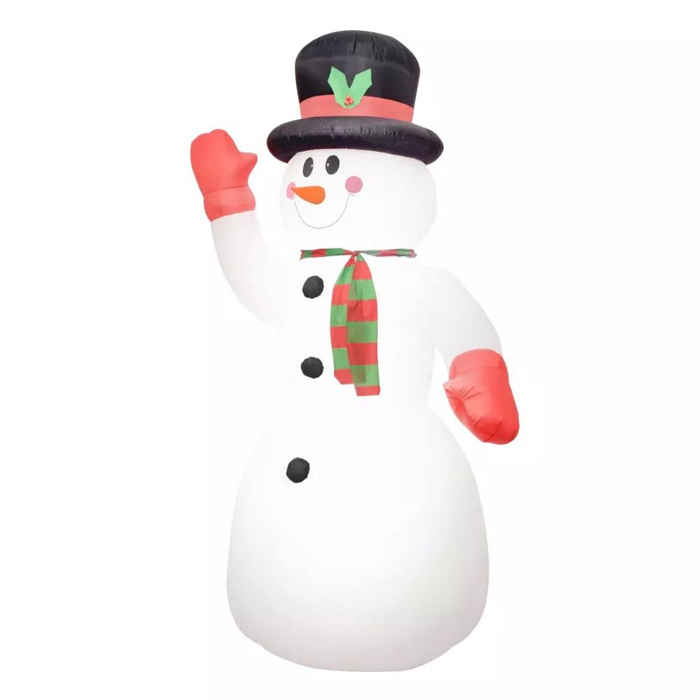 VidaXL Weihnachten Dekoration Aufblasbare Schneemann Santa Mit LED Licht IP44 300cm Helle Frohe Weihnachten 2019 Neue Jahr Dekorationen - 2