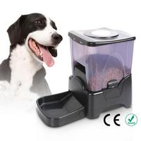 10.65L Pet Food Bowl PF 10A High Capacity Portion Control Automatic Dog Feeder Food Dispenser Black Cat Smart Feeding Machine