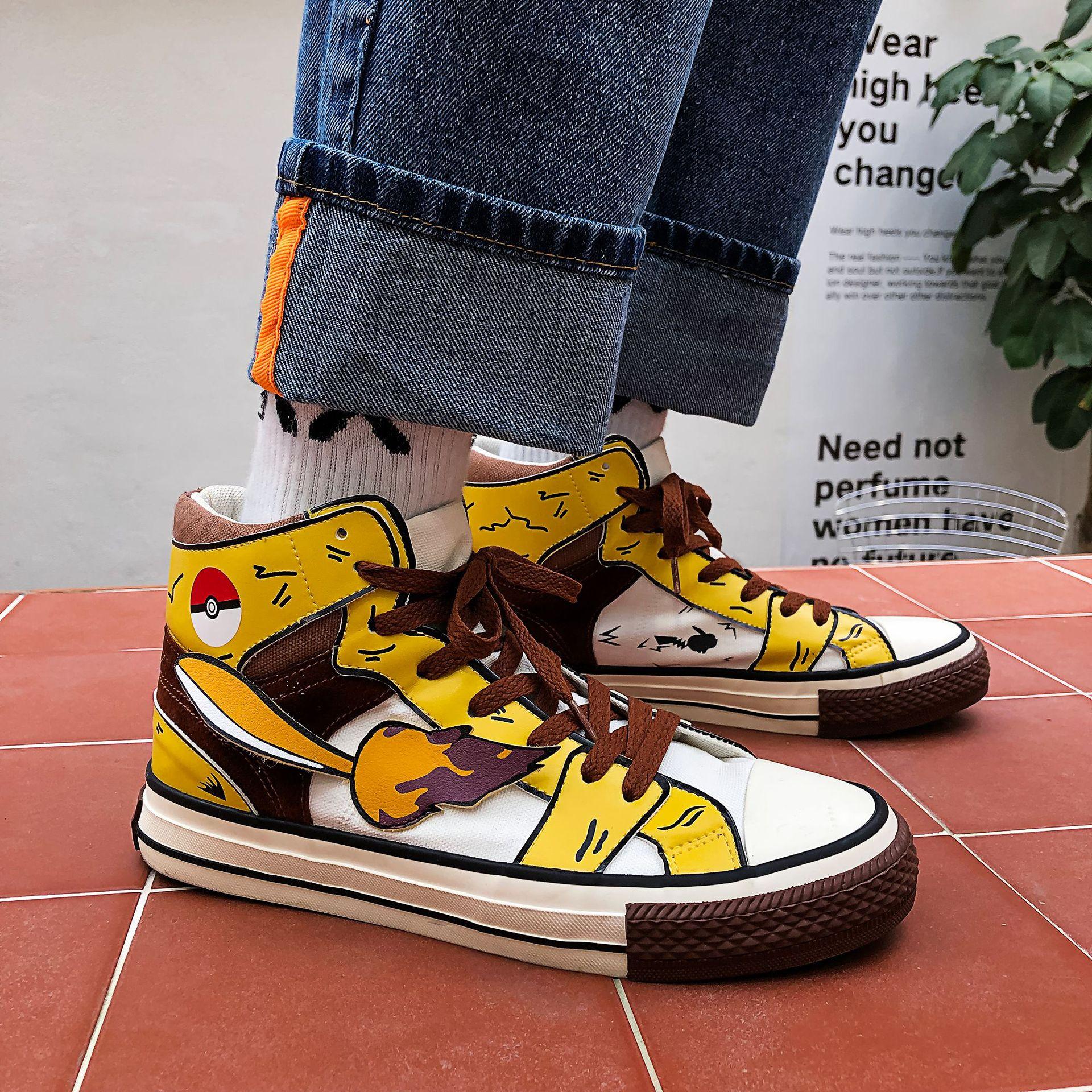 Kawaii Pikachu Sneakers 1