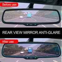 Car Accessories Interior Mirrors Protective Film Car Rearview Mirror Anti Glare Film Nano Anti Fog Waterproof Rainproof Film