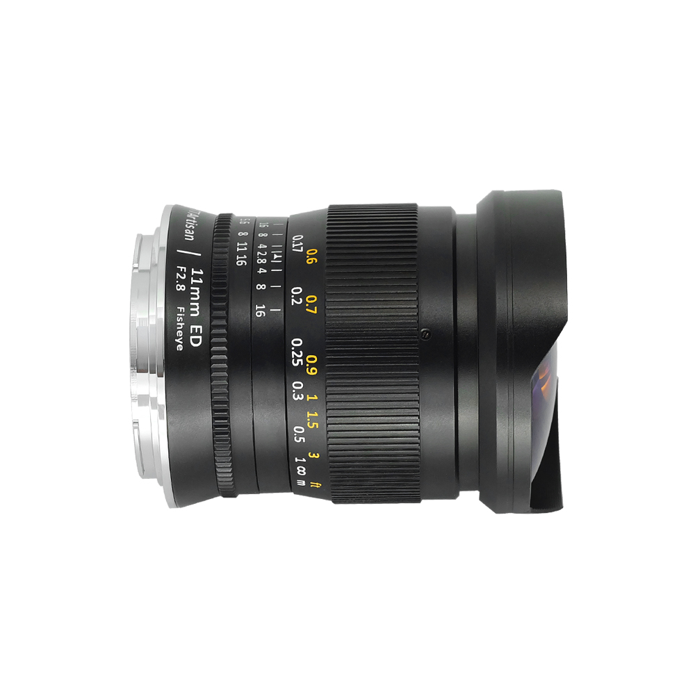 TTArtisan 11mm F2.8 Full Fame Fisheye Lens for Leica M L Mount/Canon RF/NIKON Z Cameras Like M-M M9 M10 Sony A7R3 A9 Presale
