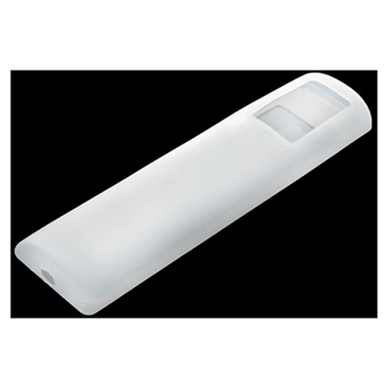 Большая сделка защитный силиконовый чехол кожного покрытия для телевизора кондиционер пульт дистанционного управления белый 21 см