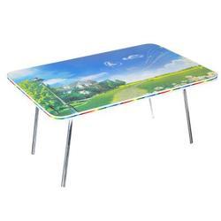 Table pliante, DVP, 60x40x30 cm, DVP, métal, 6 designs
