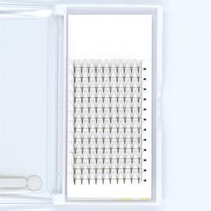 Premade rosyjska objętość 6D/7D 8-14mm D Curl rzęsy z norek krótki trzonek Lash Pre made łatwe przedłużanie rzęs makijaż