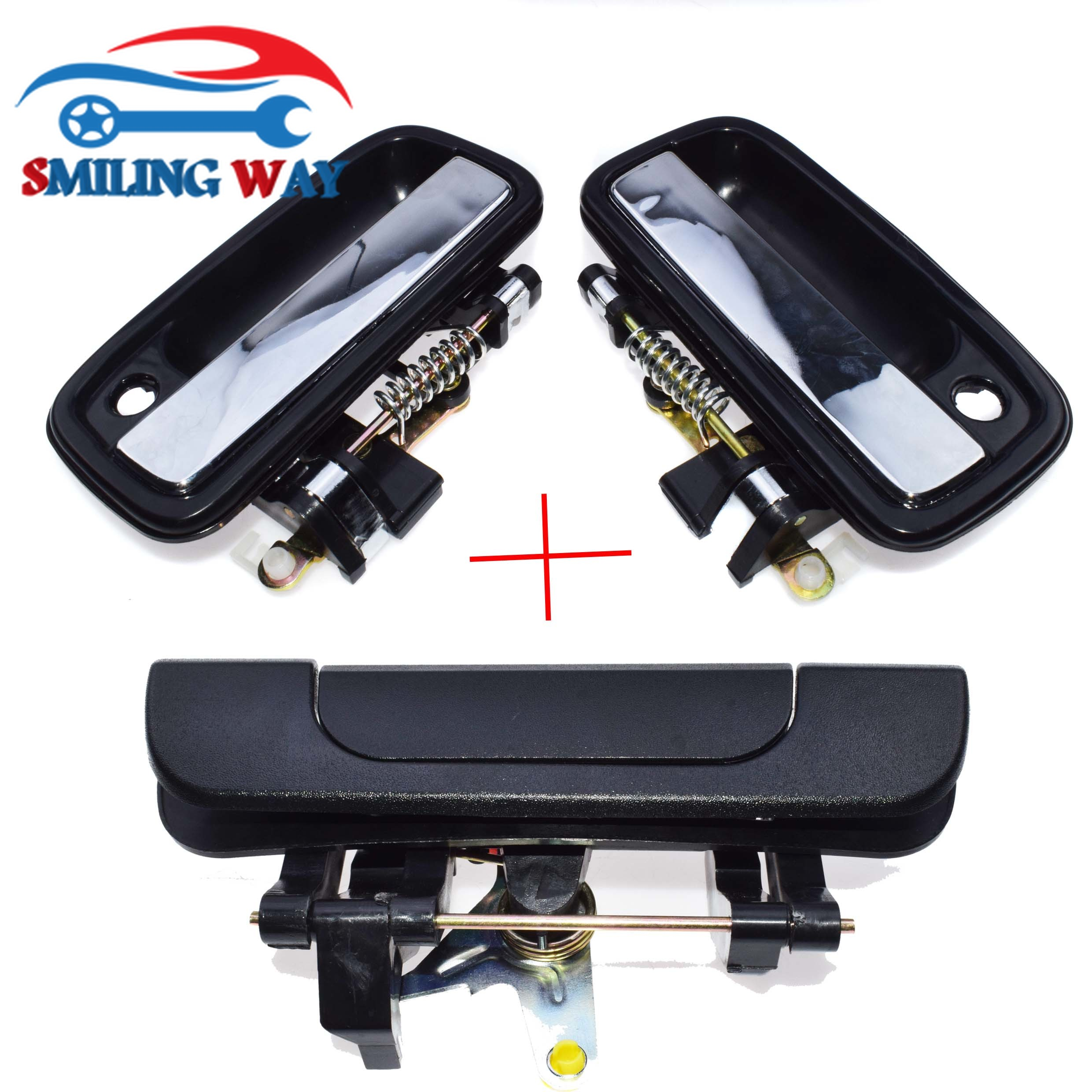 Outside Door Handle Rear Tailgate Latch For Toyota Tacoma 1995 1997 1998 1999 2000 2001 2002 2003 2004 Front Left Right Exterior Door Handles Aliexpress