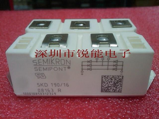 Three-phase rectifier module / SKD210 / 16 SKD210 / 12--RNDZ