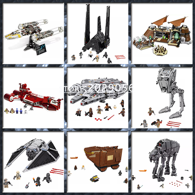Star Wars Movie Series MicroFighters Sandcrawler Dead Star Empire Star Destroyer 05027 05028 05035 05063 05039 05132 05033 05142