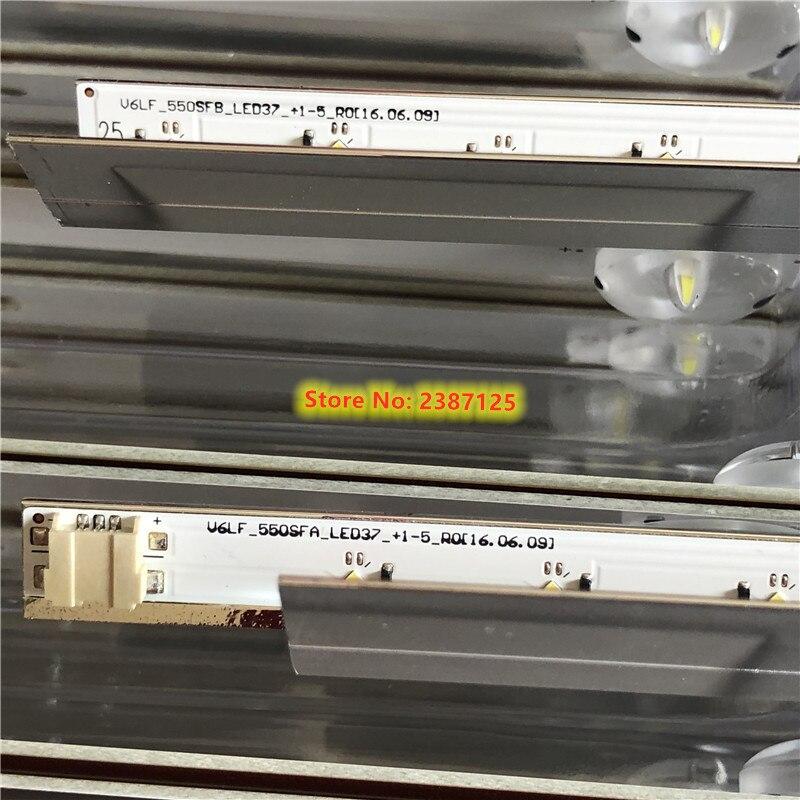 New 2 PCS LED Backlight Strip For Samsung UE55K5102 UE55K5100 LOUVRE 55