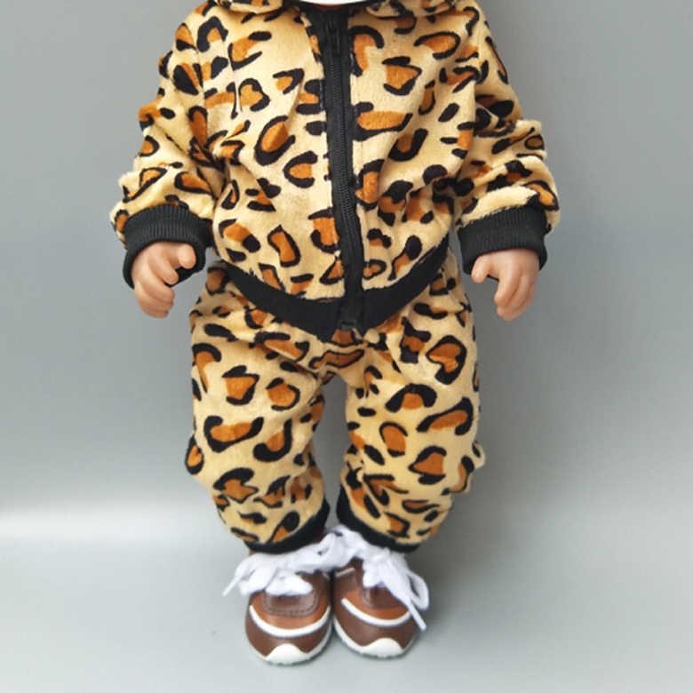 """בגדי בובה 18 אינץ בובת אפוד מעיל חולצה ומכנסיים עבור 18 """"43 cm תינוק חדש נולד בובה צעצועי אבזר תינוקת מתנות"""