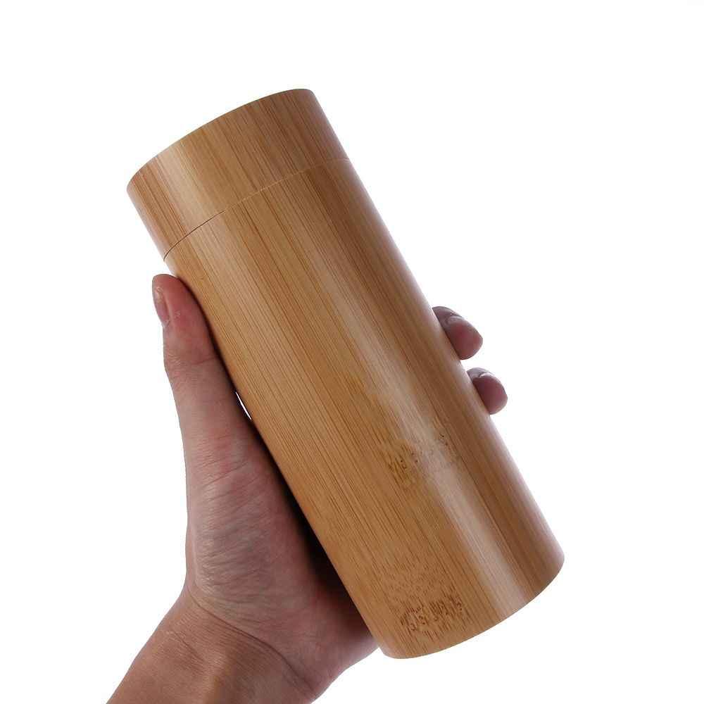 2019 Vintage hecho a mano hombres mujeres de madera bambú gafas de sol caja marco gafas nueva mano pulida