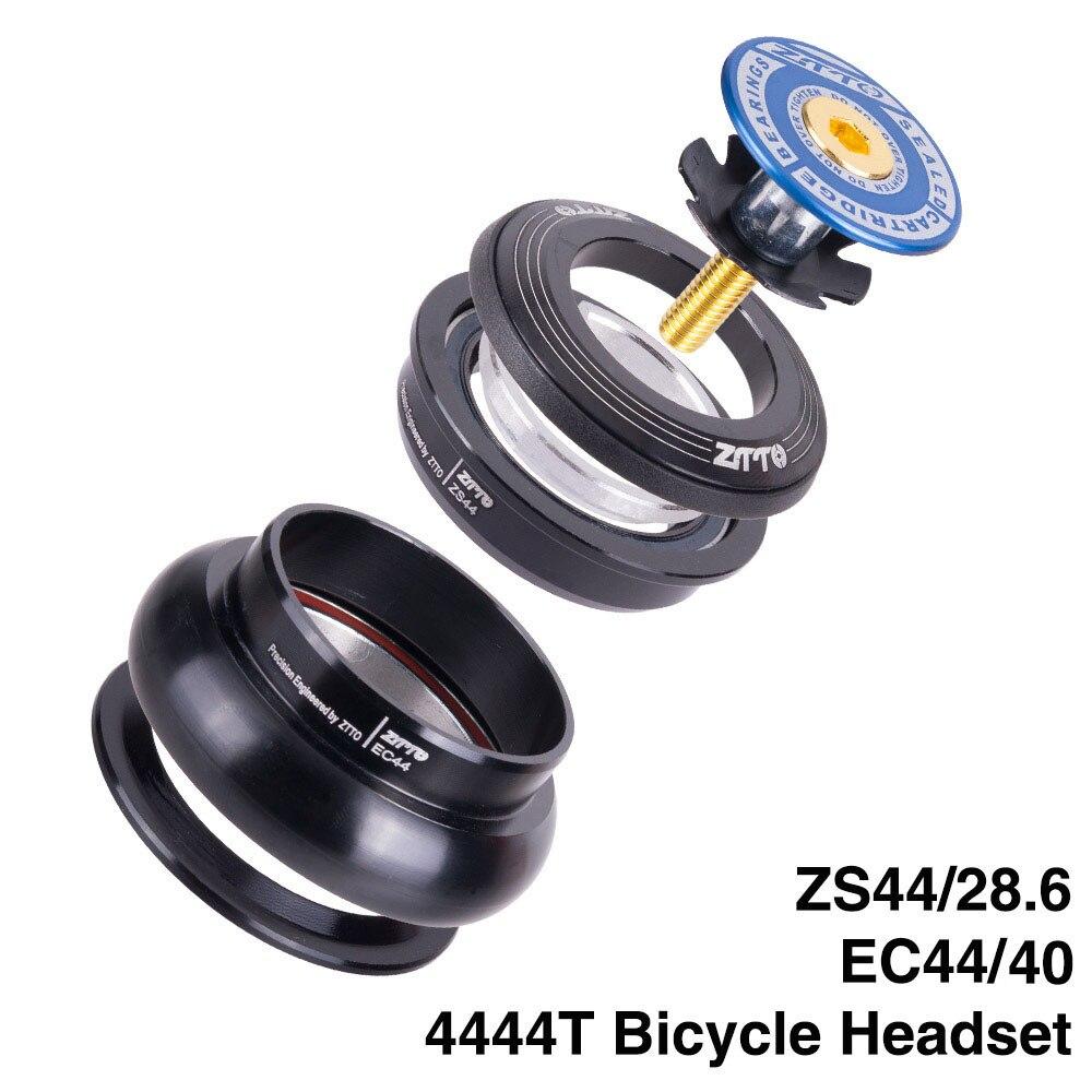 Auriculares con adaptador para bicicleta MTB de 44mm ZS44, EC44 CNC de 1 4444