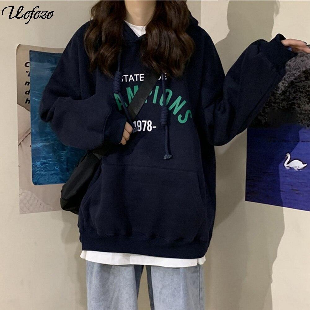 Женские свитера большого размера, топы, одежда с карманами, весенние повседневные винтажные пуловеры, толстовки, чистый Топ, толстовка Толстовки и свитшоты      АлиЭкспресс