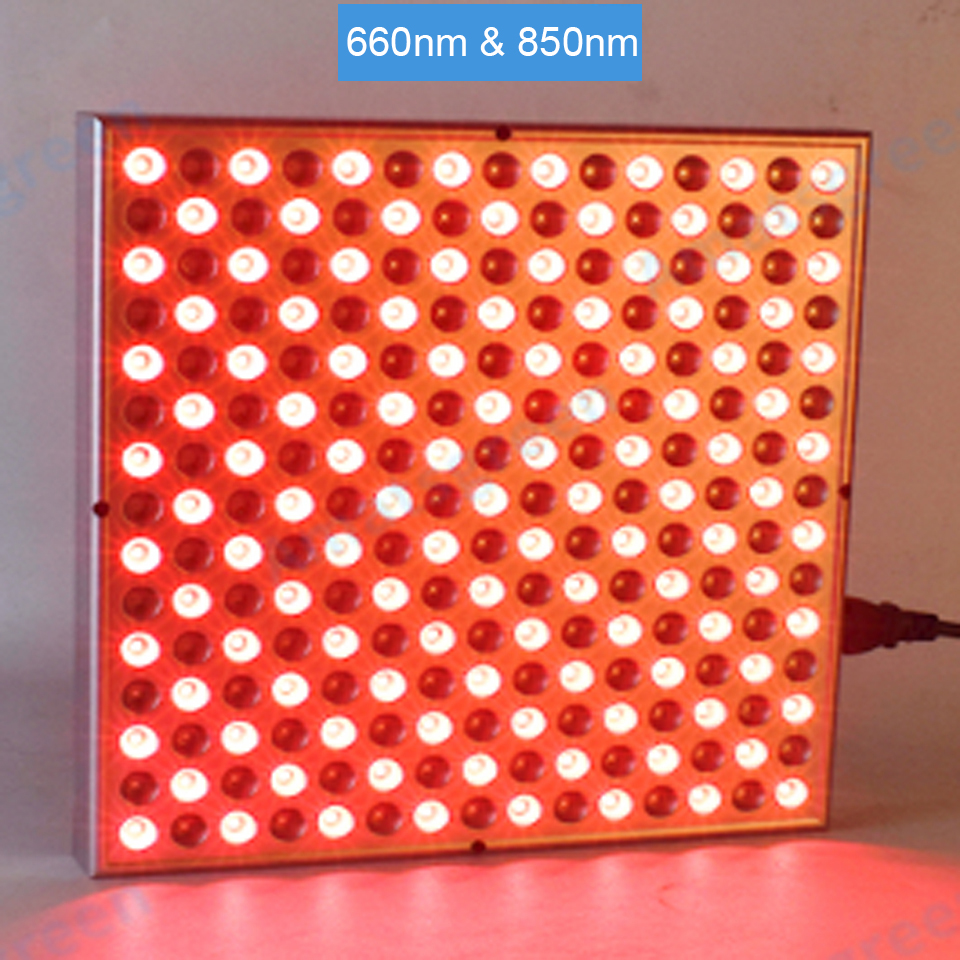 45W LED Panel Switch On/off 660nm Red Light Therapy, 850nm Near Infrared Lamp Therapy For Skin And Pain Relief
