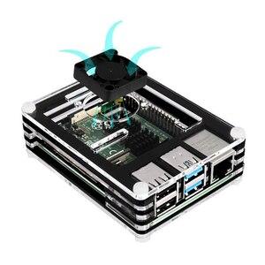 Image 4 - Original Raspberry Pi 4 Model B 2.4G&5G WiFi Bluetooth 5.0 2GB/4GB/8GB RAM + Rapberry Pi 4B Case Power Supply Aluminum Heat Sink