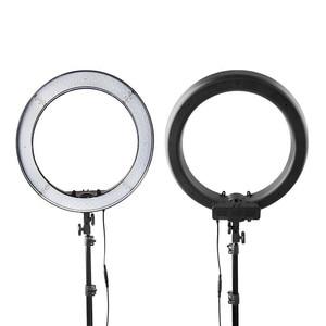 Image 5 - FOSOTO 18 אינץ led טבעת אור צילום מנורת Selfie Ringlight Led טבעת מנורה עם חצובה Stand עבור איפור Youtube Tiktok