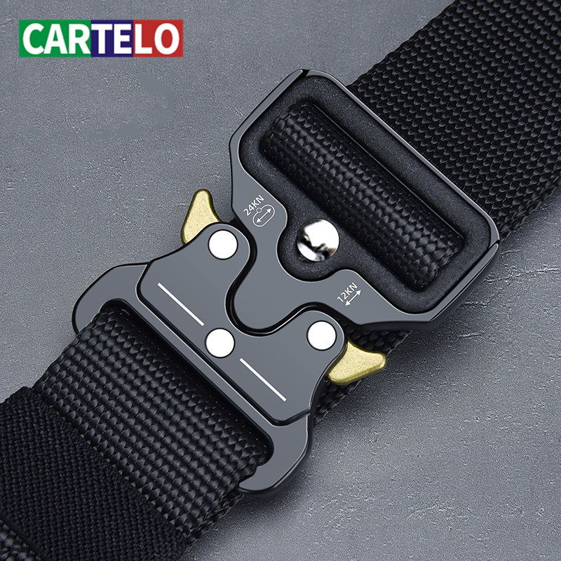 Men's Belt Army Outdoor Hunting Tactical Multi Function Combat Survival High Quality Marine Corps Canvas For Nylon Male Luxury