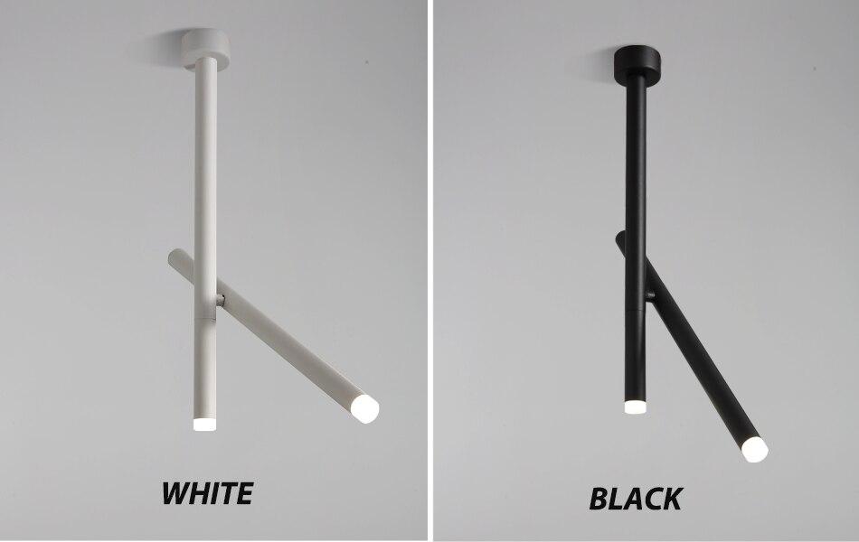 Moderno led luzes pingente de alumínio superfície