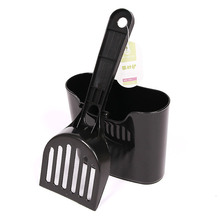 Cat Toilet Litter Scoop Sets with Hook Cats Accessories Durable Shovel High Quality Cleaning Tools