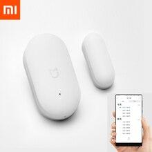 Gebündelt Verkauf Original Xiaomi Mijia Intelligente Mini Tür Fenster Sensor Tasche Größe Smart Home Automatische lichter für MIhome App