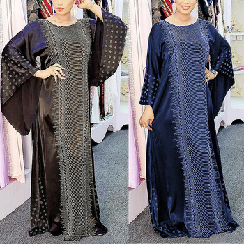 MD Muslim Bangladesh Black Abaya Dubai Kaftan Hijab Dress Women Islamic Clothing Turkey Caftan Abayas Jalabiya 2020 Ramadan Robe - discount item  40% OFF Muslim Fashion