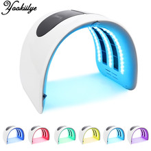 7 Colors PDT LED Light Photon Therapy Facial Mask Skin Rejuvenation Beauty Therapy Machine Acne Remover Anti-Wrinkle Skin Care