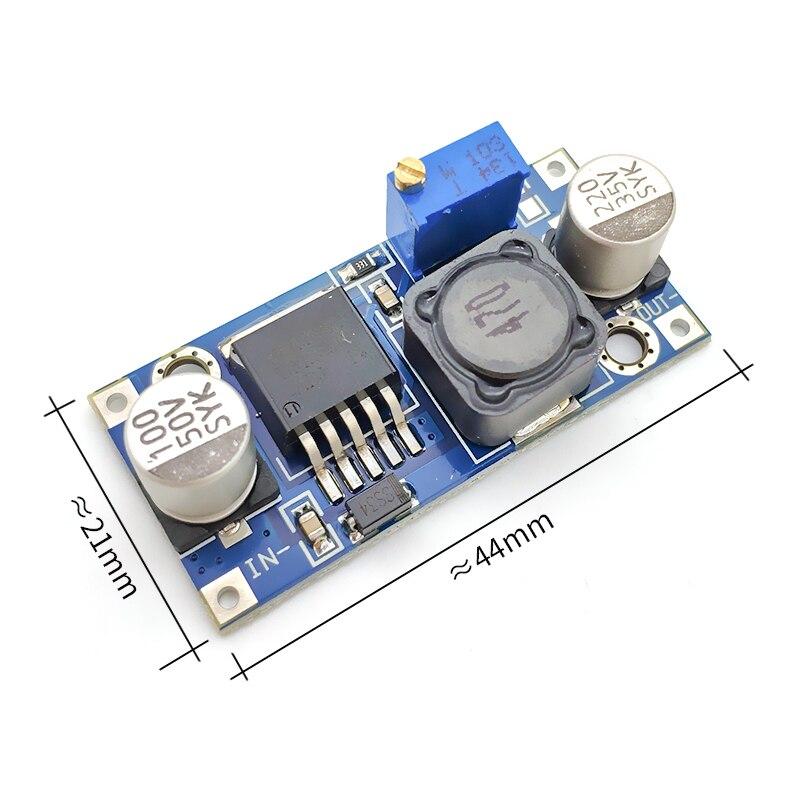 LM2596 LM2596S ADJ Мощность модуль питания DC-DC понижающий модуль 5 V/12 V/24 V Регулируемый Напряжение регулятор 3A