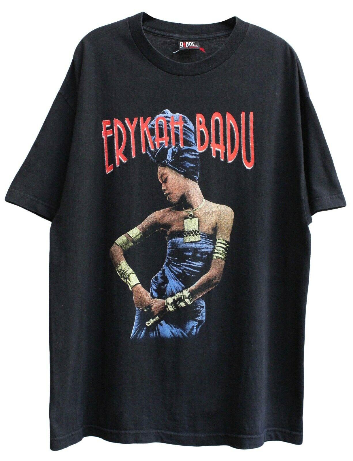 Erykah Badu Mamas Gun Tour Shirt 2001 Lauryn Hill Rap Tee Sade Selena Vtg
