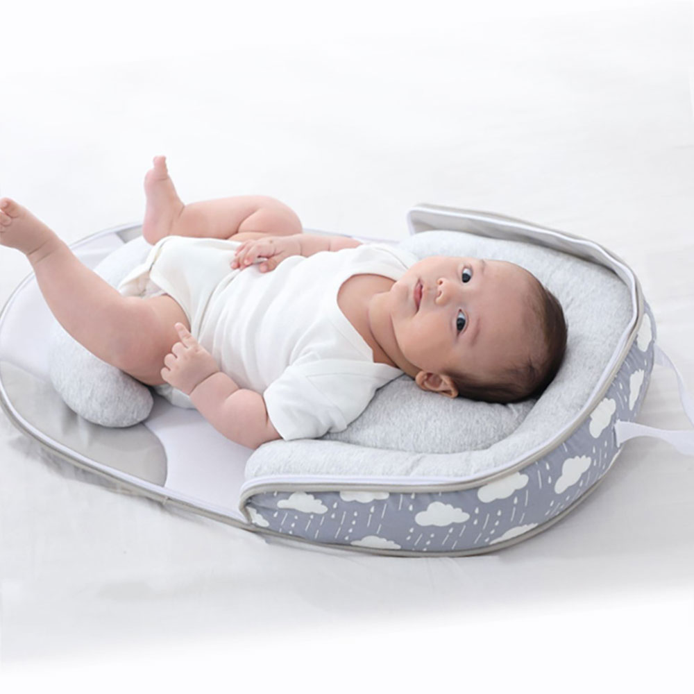 Portable Travel Beds Bag For Newborns Soft Infant Cribs Bassinet Package Multi-Function Bed Anti-Pressure Baby Bed Sleeping Nest