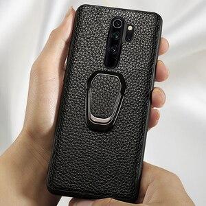 Image 5 - Leather Phone Case For Xiaomi Mi 10 9 se 9T A3 Lite POCO X2 F1 F2 Mix 2s Max 3 Litchi For Redmi Note 9 9S 8 7 7A 6 K30 Pro Cover