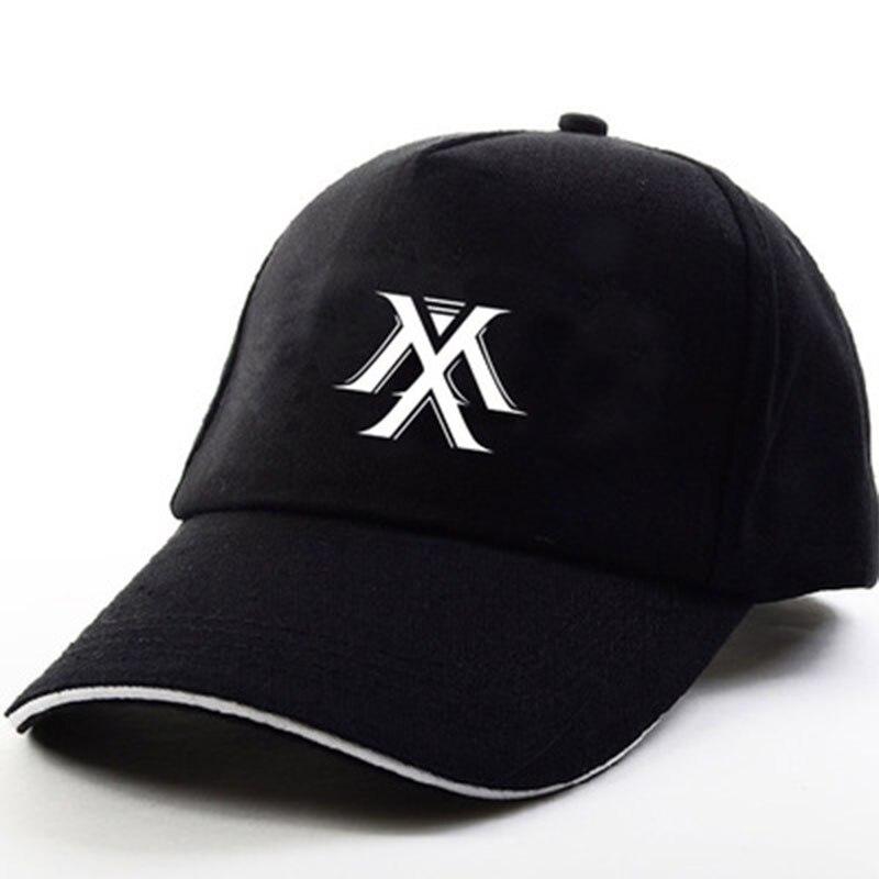 Monsta X   Baseball     Cap   Sun Hat New Album Alligator Sunscreen Hat Flat Snapback Outdoor Sunscreen Hat LXX387