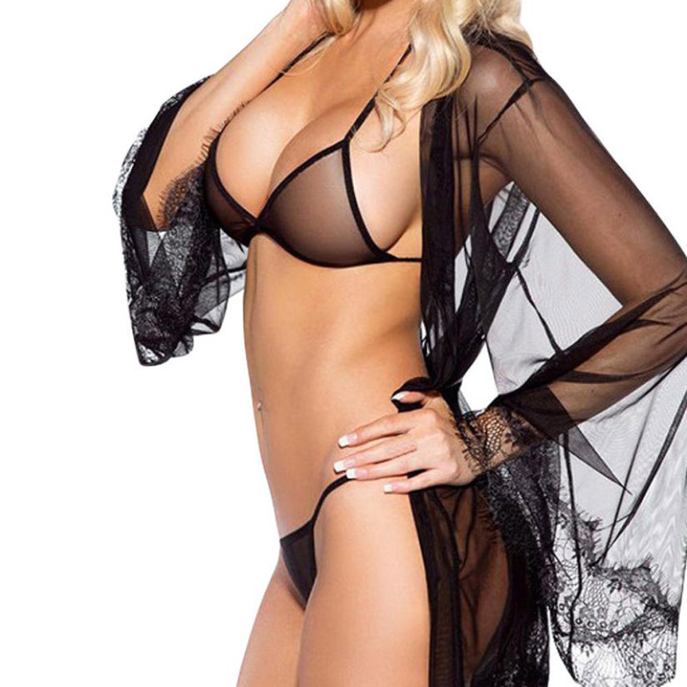 2PC Women's Underwear For Sex Plus Size Erotic Costumes Bra +Gstring Babydoll Set Lingerie For Sex Porno Sex Shop For Couples