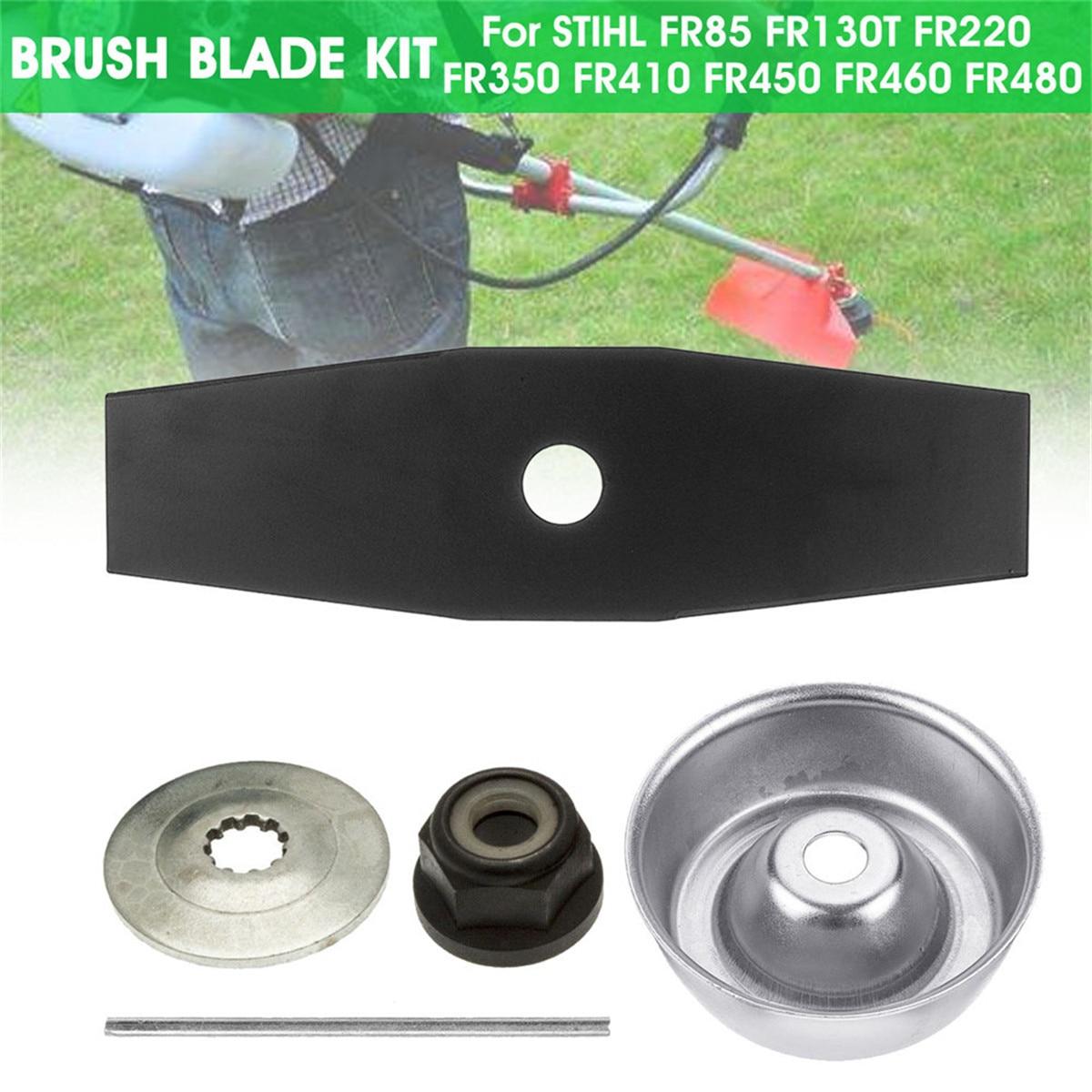 Brush Cutter Blade Kit Grass Trimmer Metal Blades Trimmer For STIHL FR85 FR130T FR220 FR350 FR410 FR450 FR460 FR480